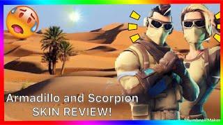 Fortnite Armadillo et Scorpion examen de la peau!