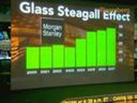 Glass-Steagall Repeal Blamed by Some for Bank Crisis: Video