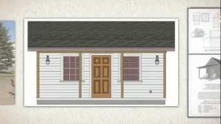 Small Cabin With A Porch: How To Build A Small Cabin With A Porch