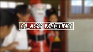 CLASS MEETING SMA Santo Tarcisius