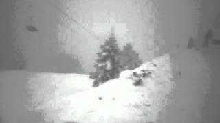 Uludağ 2012 anlık kar fırtınası