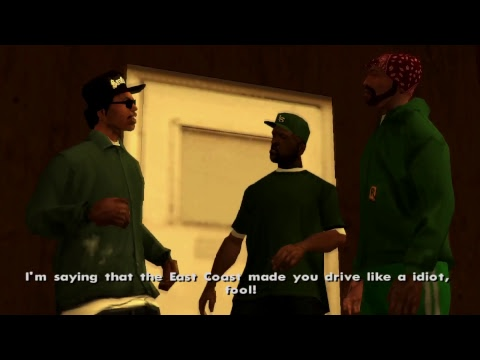 """""""Let's play"""" Grand Theft Auto: San Andreas #1"""