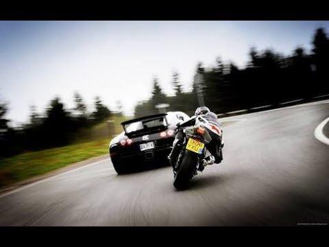 Kawasaki Ninja H2r vs Bugatti Veyron Drag Race 2016 HD watch