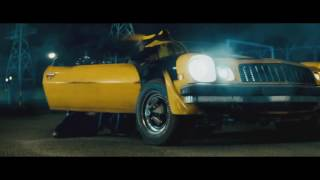 Transformers. Sam meets Barricade. Bumblebee vs. Barricade. 720p HD