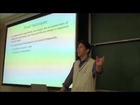 Complexity and Algorithm Design 2013 - Week 02