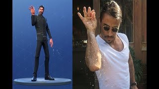 Fortnite VS In Real Life Salt Bae (Pure Salt Emote)