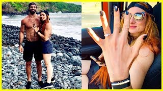 WWE Seth Rollins & Becky Lynch Get ENGAGED!! | Seth Rollins & Becky Lynch 2019