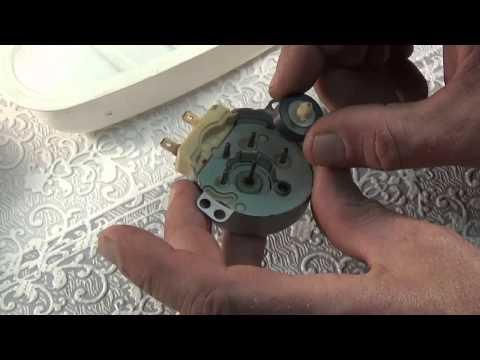 Ремонт двигателя микроволновой печи