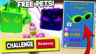 😱 NEW FREE GALACTIC SHOCK PET CODES IN BUBBLE GUM SIMULATOR UPDATE! *SUPER OP PETS* Roblox