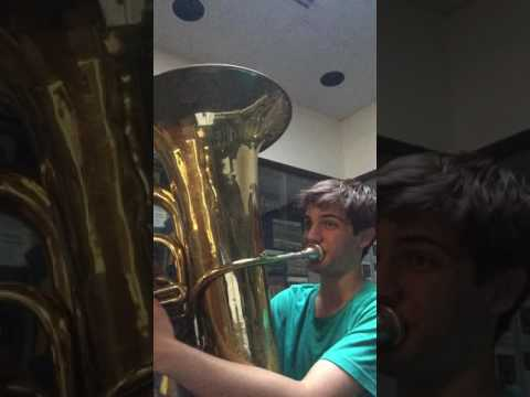 JD Tuba 2 octave F scale