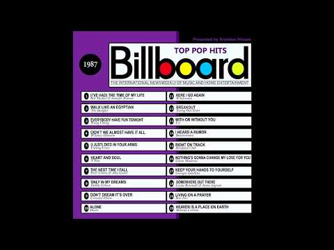 Billboard Top Pop Hits - 1987