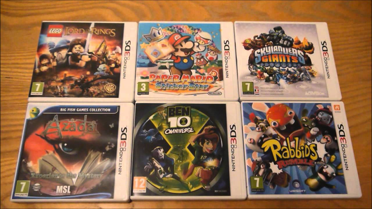 Why Do I Buy Less Popular Nintendo 3ds Games Youtube