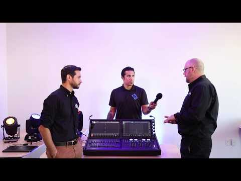 ChamSys MagicQ MQ500 Stadium Console Overview
