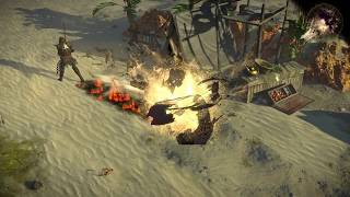Path of Exile: Wasteland Flame Dash