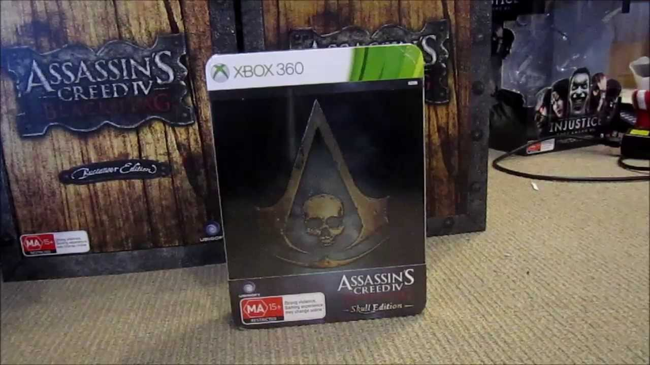 Assassin S Creed Iv Black Flag Skull Edition Unboxing Youtube