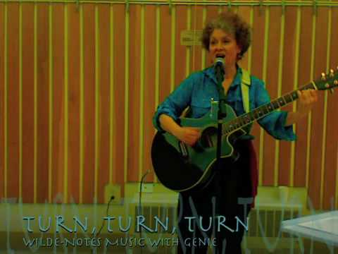 Turn, Turn, Turn - lyrics - cover of Pete Seeger song based on Ecclesiastes