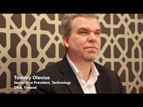 : Tommy Olenius DNA Finland - Network transformation and use of data analytics
