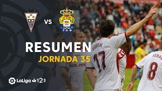 Resumen de Albacete BP vs UD Las Palmas (4-2)