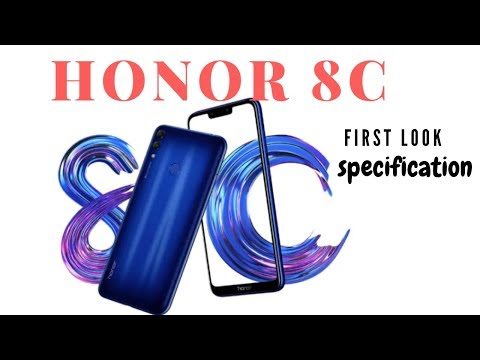 Honor 8C First Impression, Look & Specification - Packed with Power - 동영상