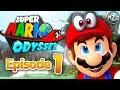 Mario DEFEATED! Cap Kingdom! - Super Mario Odyssey - Episode 1