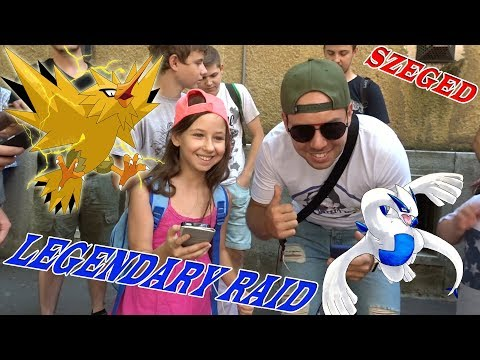 Pokémon GO - LUGIA & 3X ZAPDOS RAID | Szeged - ZsImi Meeting |