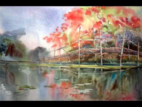Myanmar Classical : အင္ၾကင္းသရဖီ - Yi Yi Thant + Harpist U Myint Mg