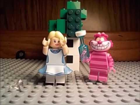 Lego Alice in Wonderland - YouTube