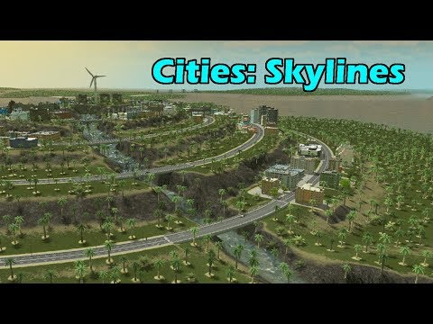 GIANT TERRACED CITY! - Cities Skylines [Los Vooperis] #16