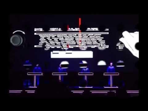 Kraftwerk -Radioland[Vienna Burgtheater 15 May 2014]