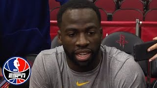 Draymond Green addresses media on Kevin Durant altercation | NBA Interview