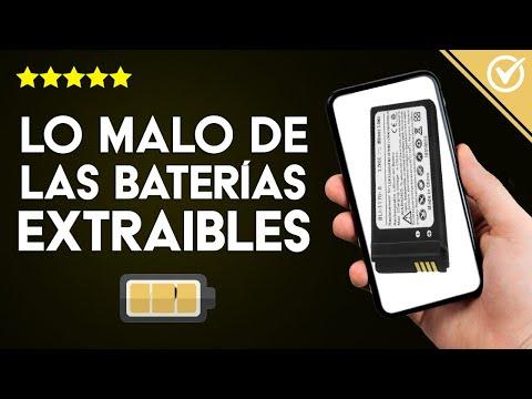 ¿Cuáles son los Puntos Negativos de las Baterías No Extraíbles? ¿Por qué No se Pueden Sacar?
