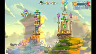 Angry Birds 2 AB2 Mighty Eagle Bootcamp (MEBC) - Season 21 Day 20 (Bubbles + Hal)