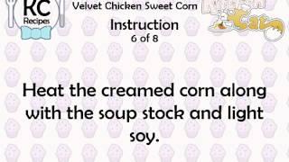 Velvet Chicken Sweet Corn - Kitchen Cat