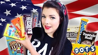 TRYING AMERICAN CANDY | Cherry Wallis