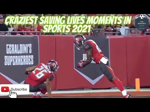 Craziest Saving Lives Moments in Sports  2021