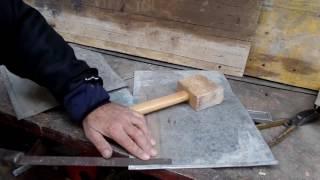 технология сращивания кусков металла в один длинный лист своими руками