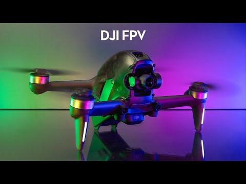 DJI FPV Drone Review \u0026 My First FPV Flight