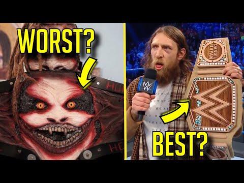 5 WORST CUSTOM Championships & 5 BEST Custom Titles! - The Fiend Bray Wyatt's Custom Title & More!