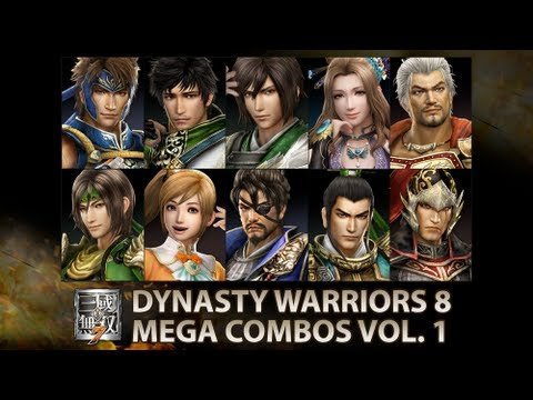 Dynasty Warriors 8 - Mega Combos Compilation Vol. 1