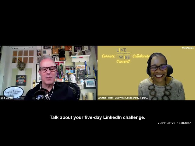 Angela Pitter's LinkedIn Challenge