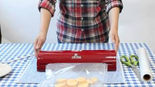 에어프리 진공포장기, 진공롤 사용방법(에어포장)