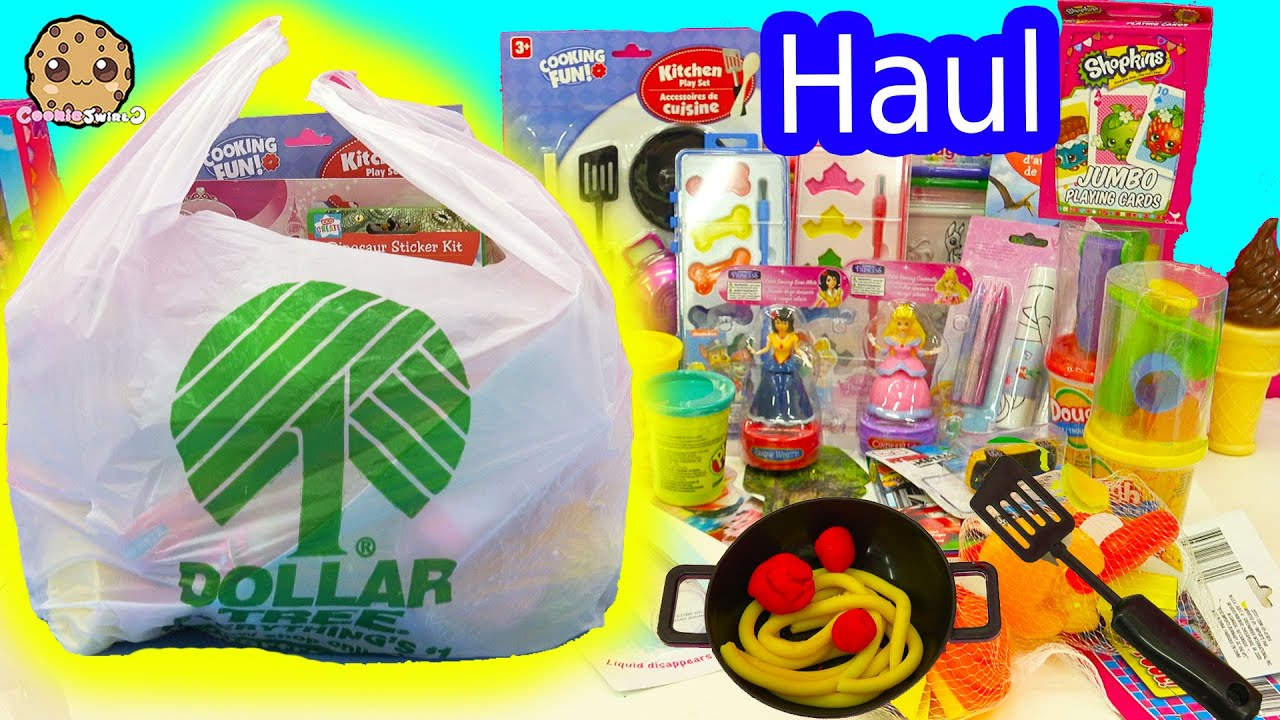 Dollar Tree Toys : Dollar tree store craft sets toys haul of playdoh