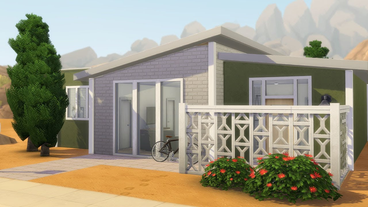 I built an actually good starter home in The Sims 4 thumbnail