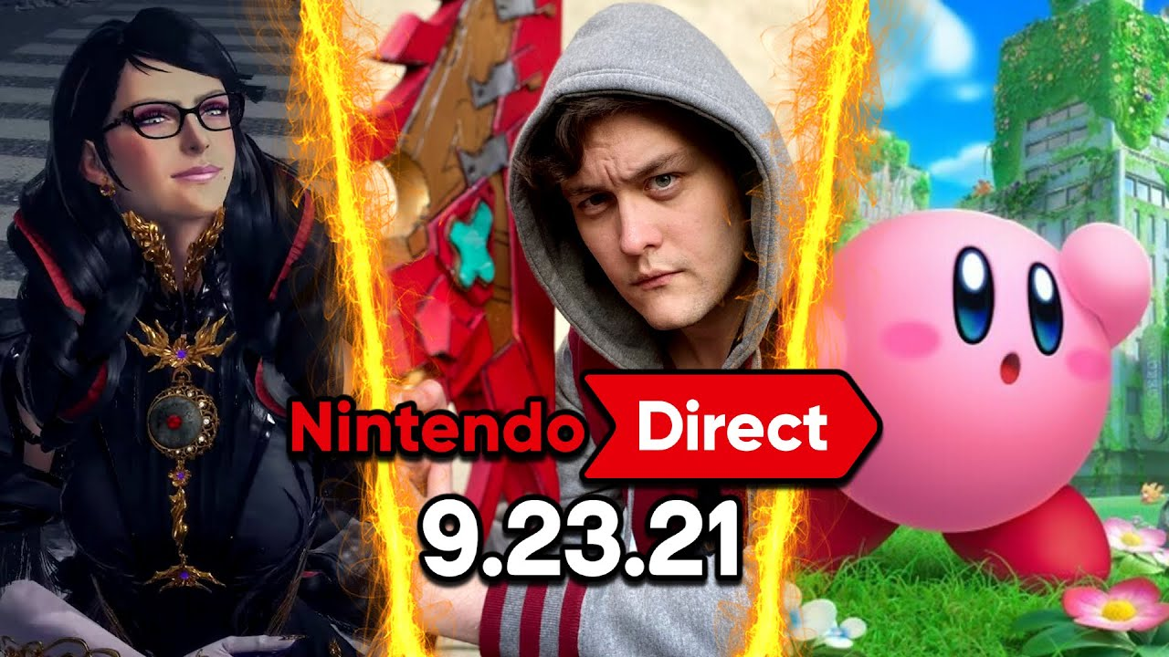 Download Nintendo Direct 9.23.2021 FULL LIVE REACTION! BAYONETTA 3, 3D KIRBY, N64 ONLINE & MORE! | RogersBase