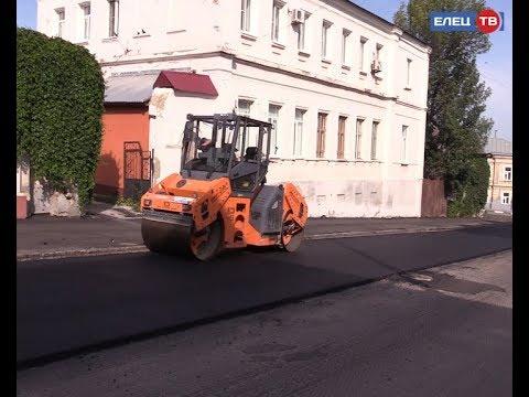 В Ельце продолжается плановый ремонт дорог
