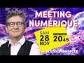 Meeting numérique de Jean-Luc Mélenchon - #JLMNumerique