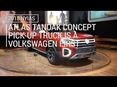 Atlas Tanoak Concept pick-up truck is a Volkswagen first