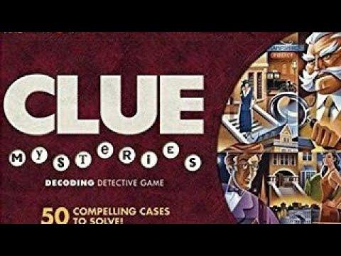Clue Mysteries | Board Game | BoardGameGeek