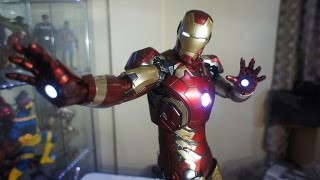 Quick Unboxing: Ironman Mark 43 1:4 Scale Figure by Hot Toys Ltd.