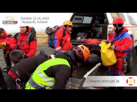 RESCUE 2018 - Search and Rescue Conference - Reykjavík Iceland